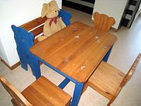 Die ersten Möbel